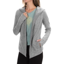 The North Face Harmony Park Hooded Wrap (For Women) in Heather Grey - Closeouts