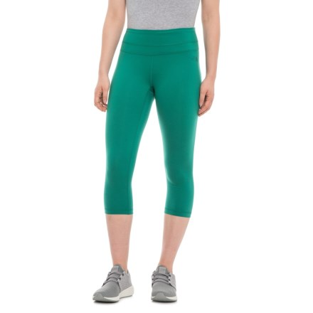 a26ef6933f The North Face Hatha Capris (For Women) in Conifer Teal