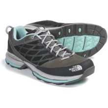 The North Face Havoc Low Trail Shoes (For Women) in Q-Silver Grey/Bonnie Blue - Closeouts