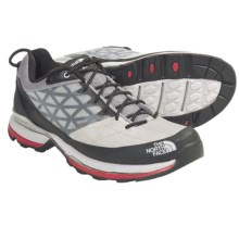 The North Face Havoc Trail Shoes (For Men) in Windchime Grey/Tnf Red - Closeouts