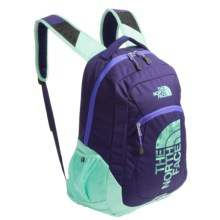 The North Face Haystack Backpack in Starry Purple/Surf Green Graphic - Closeouts