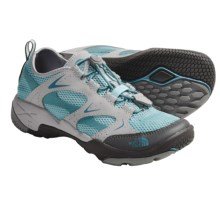 The North Face Hedgefrog Pro Shoes - Amphibious (For Women) in Bonnie Blue/Foil Grey - Closeouts