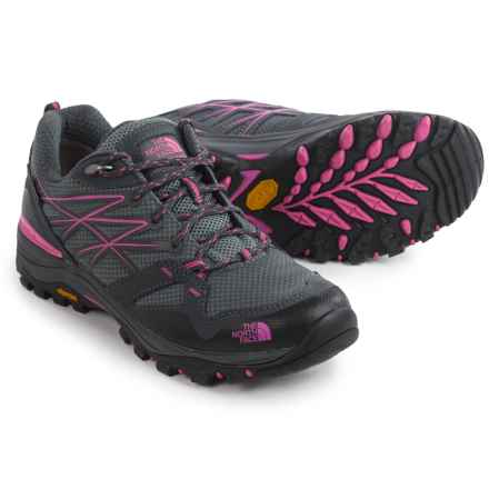 The North Face Hedgehog Fastpack Gore-Tex® Hiking Shoes - Waterproof (For Women) in Zinc Grey/Raspberry Rose - Closeouts