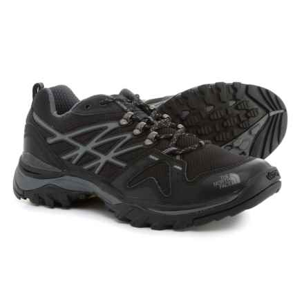 The North Face Hedgehog Fastpack Trail Running Shoes (For Men) in Tnf Black/Griffin Grey - Closeouts