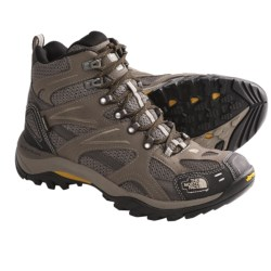 The North Face Hedgehog Gore-Tex® XCR® III Tall Hiking Boots - Waterproof (For Men) in Weimararner Brown/Algae Yellow