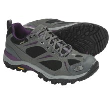 The North Face Hedgehog Gore-Tex® XCR® Trail Shoes - Waterproof, Leather (For Women) in Graphite Grey/Velvet Purple - Closeouts