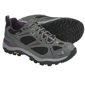 The North Face Hedgehog Gore-Tex® XCR® Trail Shoes - Waterproof, Leather (For Women) in Graphite Grey/Velvet Purple