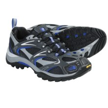 The North Face Hedgehog III Gore-Tex® XCR® Trail Shoes - Waterproof (For Men) in Dark Shadow Grey/Athens Blue - Closeouts