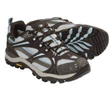 The North Face Hedgehog III Gore-Tex® XCR® Trail Shoes - Waterproof (For Women) in Coffee Brown/Pale Blue - Closeouts