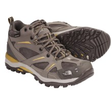 The North Face Hedgehog Mid Gore-Tex® XCR® Hiking Boots - Waterproof, Leather (For Women) in Classic Khaki/Mayan Yelow - Closeouts