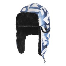 The North Face Heli Hoser Hat in Cosmic Blue Shaka Print - Closeouts