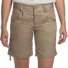 The North Face Hennepin Shorts (For Women) in Dune Beige - Closeouts