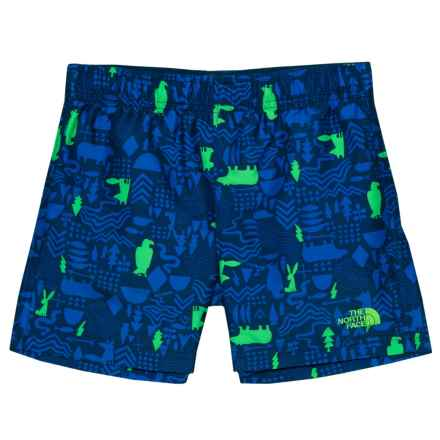 The North Face Hike-Water Shorts - UPF 50 (For Toddlers) in Cosmic Blue/Wldwscrtpt - Closeouts