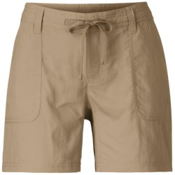 The North Face Horizon Becca Shorts - Packable, UPF 30 (For Women) in Weimaraner Brown