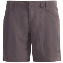 The North Face Horizon Becca Shorts - UPF 30 (For Women) in Sonnet Grey - Closeouts