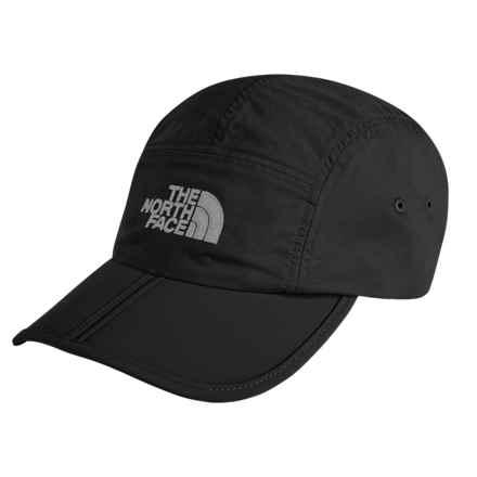 The North Face Horizon Folding Baseball Cap (For Men) in C4v Tnf Black/High Rise Grey - Closeouts