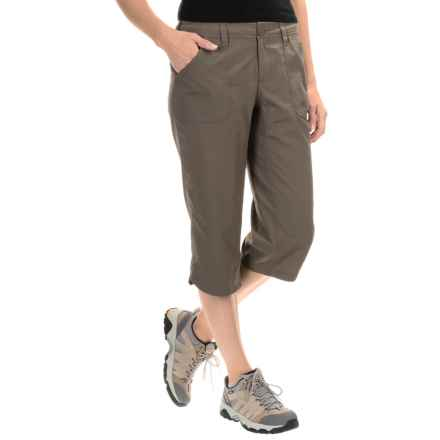 The North Face Horizon II Capris - UPF 50 (For Women) in Weimaraner Brown - Closeouts