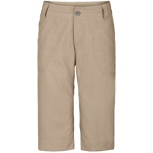 The North Face Horizon Noble Capri - UPF 50, Ripstop Nylon (For Women) in Dune Beige - Closeouts