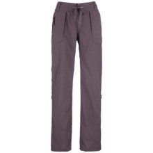 The North Face Horizon Tempest Pants - Roll-Up Legs (For Women) in Sonnet Grey - Closeouts