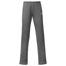 The North Face HW Agave Fleece Leggings (For Little and Big Girls) in Heather Grey - Closeouts