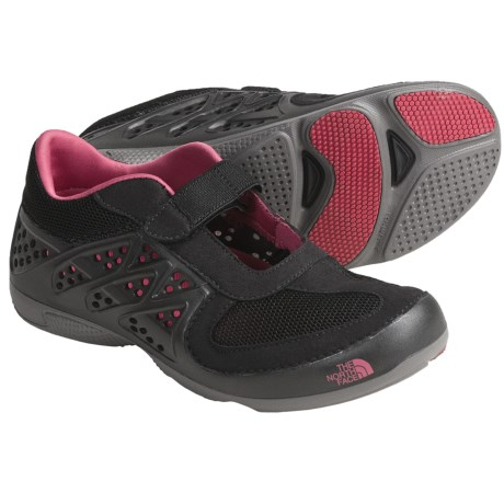 The North Face Hydroshock Shoes - Mary Janes (For Women) in Black/Pink