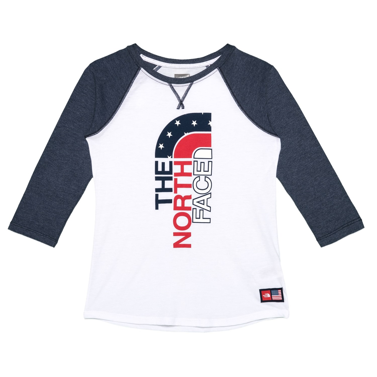 54648c195 The North Face IC Tri-Blend T-Shirt - 3/4 Sleeve (For Little and Big Girls)