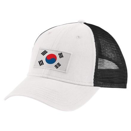 The North Face IC Trucker Hat (For Men) in Tnf White Tnf Black aeaf1498c369