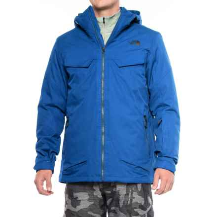 The North Face Initiator ThermoBall® Triclimate® Ski Jacket - Waterproof, Insulated, 3-in-1 (For Men) in Bomber Blue - Closeouts