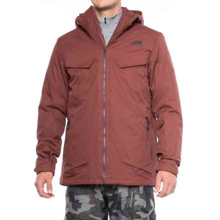 The North Face Initiator ThermoBall® Triclimate® Ski Jacket - Waterproof, Insulated, 3-in-1 (For Men) in Hot Chocolate Brown - Closeouts