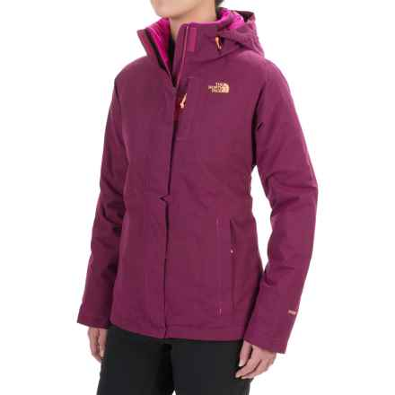 The North Face Inlux Jacket - Waterproof, Insulated (For Women) in Dramatic Plum Heather - Closeouts