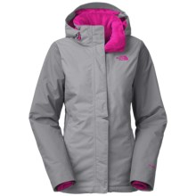 The North Face Inlux Jacket - Waterproof, Insulated (For Women) in Mid Grey - Closeouts