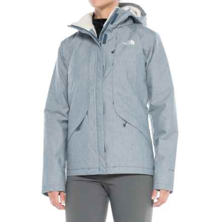 The North Face Inlux Jacket - Waterproof, Insulated (For Women) in Shady Blue Chambray - Closeouts