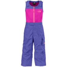 The North Face Insulated Bib Overalls - Waterproof (For Toddlers) in Starry Purple - Closeouts