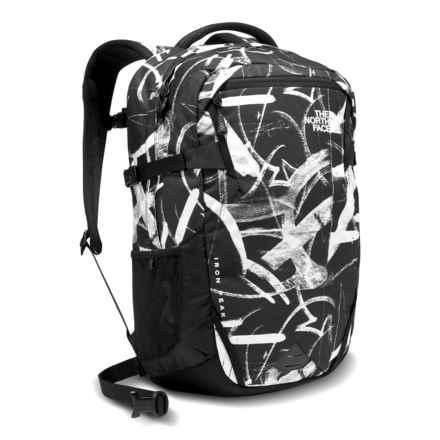 The North Face Iron Peak Backpack - 28L, Internal Frame in Tnf Black Graffiti Print - Closeouts