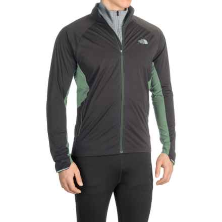 The North Face Isolite Jacket (For Men) in Asphalt Grey/Climbing Ivy Green - Closeouts
