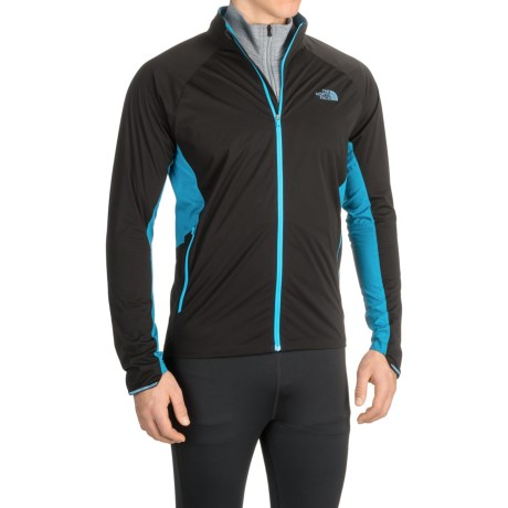 The North Face Isolite Jacket (For Men) in Tnf Black/Banff Blue