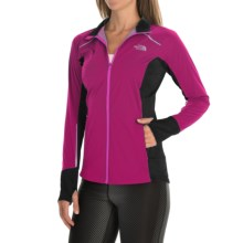 The North Face Isolite Jacket (For Women) in Dramatic Plum/Tnf Black Heather - Closeouts