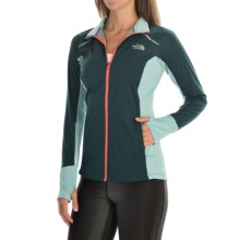 The North Face Isolite Jacket (For Women) in Kodiak Blue/Tourmalne Blue Heather - Closeouts