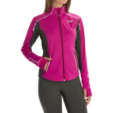 The North Face Isotherm Windstopper® Jacket (For Women) in Luminous Pink/Asphalt Grey - Closeouts