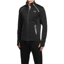 The North Face Isotherm Windstopper® Running Jacket (For Men) in Tnf Black - Closeouts