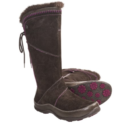 The North Face Janey II Winter Boots (For Women) in Weimaraner Brown/Roxbury Pink