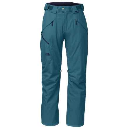 The North Face Jeppeson Stretch Ski Pants - Waterproof, Insulated (For Men) in Diesel Blue - Closeouts