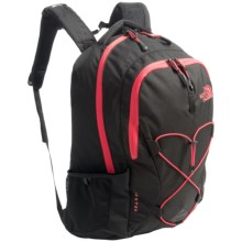 The North Face Jester Backpack (For Women) in Tnf Black/Snowcone Red - Closeouts