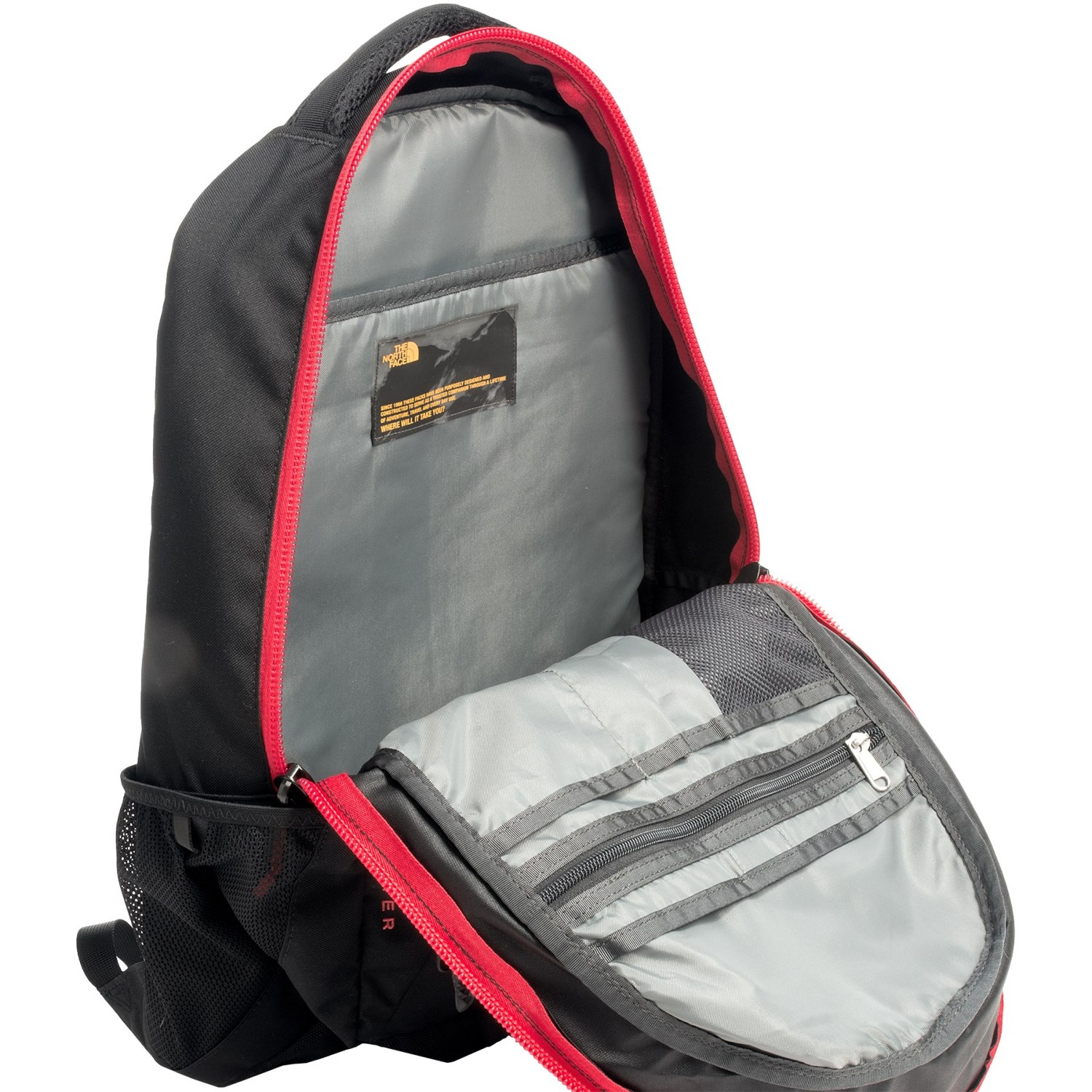 North Face Womens Jester Backpack Black - CEAGESP 4b6389476d