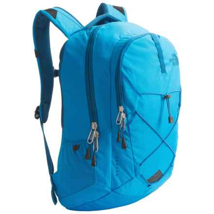 The North Face Jester Backpack in Blue Aster Emboss/Banff Blue - Closeouts