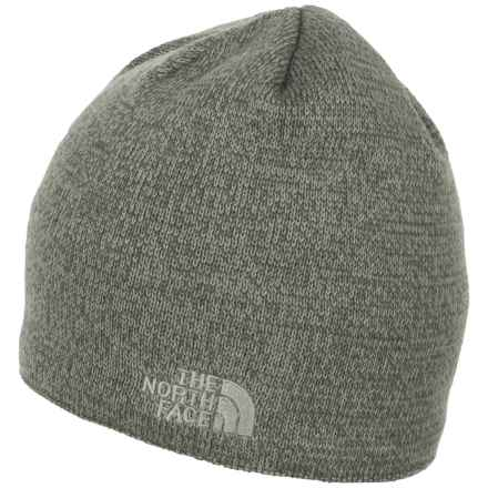 The North Face Jim Beanie (For Men) in Fuse Box Grey Heather - Closeouts