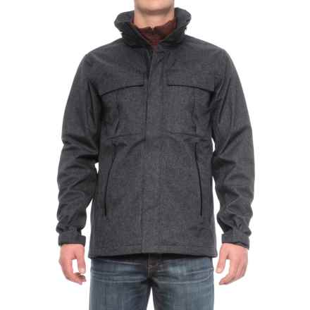 The North Face Kassler Field Jacket - Waterproof (For Men) in Tnf Black Heather - Closeouts