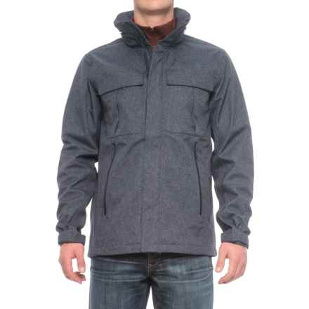 The North Face Kassler Field Jacket - Waterproof (For Men) in Urban Navy Heather - Closeouts