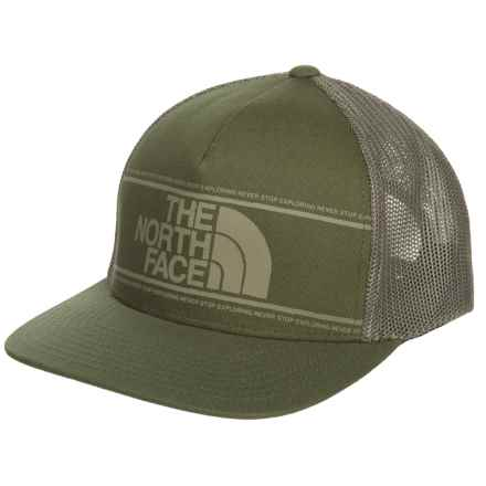 The North Face Keep It Structured Trucker Hat (For Men) in Beech Green - Closeouts