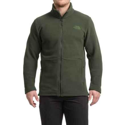 The North Face Khumbu 2 Fleece Jacket - Full Zip (For Men) in Climbing Ivy Green/Climbing Ivy Green - Closeouts